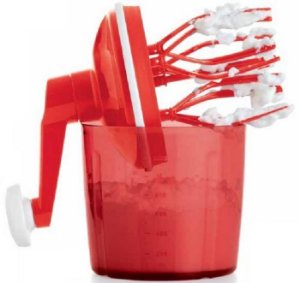 Speedy Chef Tupperware Mixer Misturador Manual
