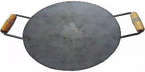 Disco De Arado De Ferro Para Fogareiro Bifeteira 40cm