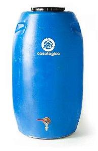 Eco Tanque 240 Litros Bombona Reciclada Para Coleta De Água Residencial - FRETE FACILITADO
