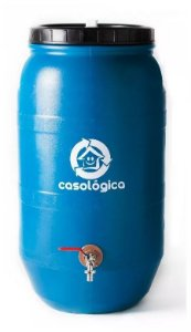 Eco Tanque 80 Litros Bombona Reciclada Para Coleta De Água Residencial - FRETE FACILITADO