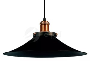 Luminaria Pendente De Teto Mesa Sala Cozinha Lustre Industrial 38cm Vintage Retro Nordic Loft