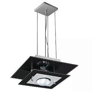 Lustre Luminária Pendente De Vidro Para Teto Mesa Jantar Sala Cozinha