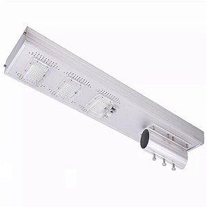 Luminária Solar 150W Fotovoltáica De Poste Sensor Movimento E Controle Remoto