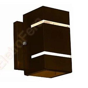 Arandela Dois Fachos Efeito Frisos De Parede Muro - Uso Externo Interno Ambientes