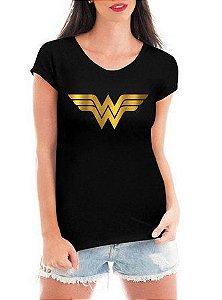 b7d249ac2f Camiseta Feminina Mulher Maravilha Filme - Personalizadas  Customizadas   Estampadas  Camiseteria  Estamparia