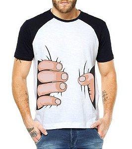 Camiseta Masculina Raglan Engraçados Mãos Apertando Humor Legais -  Personalizadas  Customizadas  - Personalizadas  9f81ec9e2ac