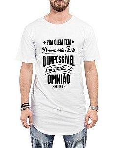 aaeb66f57fd32 Camiseta Long Line Oversized Masculina Charlie Brown Jr Chorão Camisetas  Barra Curvada - Camisetas Personalizadas