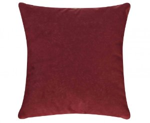 Capa de Almofada Glamour 45cm x 45cm [Vermelho]