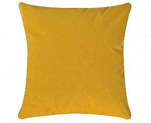 Capa de Almofada Glamour 45cm x 45cm [Amarelo]