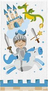 Toalha de Banho Infantil Estampada Lepper [Cavaleiro]