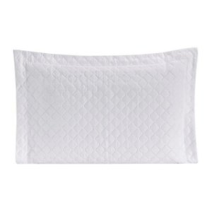 Porta Travesseiro Matelado Requinte Branco