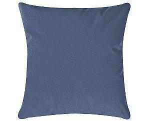 Capa de Almofada Glamour 45cm x 45cm Azul