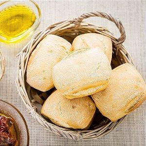 Mini Pão Ciabatta Pré-assado e Congelado IATAPAN - 3,2kg