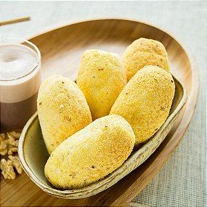 Mini Pão de Castanha Pré-assado e Congelado IATAPAN - 3,2kg