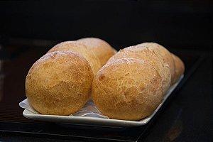 Pão de Hambúrguer Semi Italiano Pré-assado e Congelado IATAPAN - 3kg