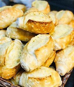 Pão Francês de Tapioca Pré-Assado Congelado Via Pane - 3Kg