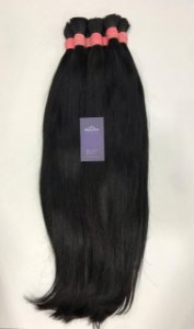 Cabelo natural liso 60 cm - 50 gr