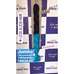 Ultra jumbo preto/azul