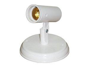 Spot Liso Branco 1 Lâmpada