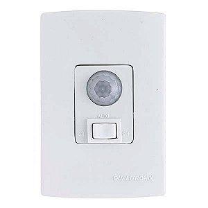 Sensor Presença Bivolt com Interruptor