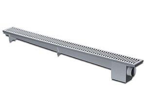 Ralo Linear Sifonado 70 cm Cinza Herc