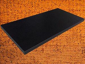 Prateleira Utile 20x80 cm Preta
