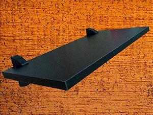 Prateleira Decora 20x100 cm Preta
