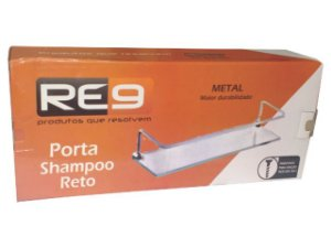 Porta Shampoo Luxo 10x30 Reto Re9
