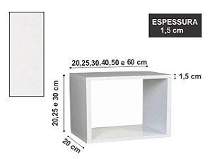 Nicho Simples 60x20x20 cm Branco