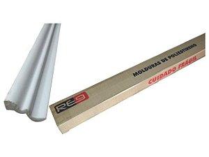 Moldura p/ Forro S-50 5 cm x 2m cx c/ 24 un.