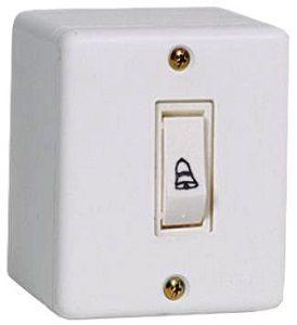 Interruptor X Branco Campainha