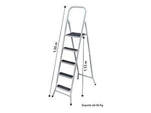 Escada Aço 5 Degraus