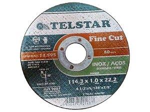 "Disco Ultra Fino 115x1x22 Inox 4,5"""