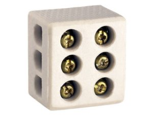Conector Louça Grande 16 mm Tripolar