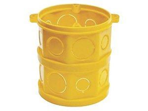 Caixa Luz FDM PVC Amarela Mondiale