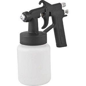 Pistola para pintura com caneca plástica ar direto PDV 90 VONDER