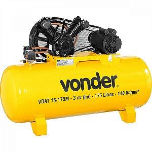 Compressor de Ar VDAT 15/175M Monofásico VONDER