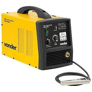Máquina para solda MIG/MAG minimig monofásica MM 150 VONDER