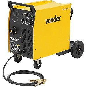 Máquina para solda MIG/MAG MM 255 trifásica VONDER