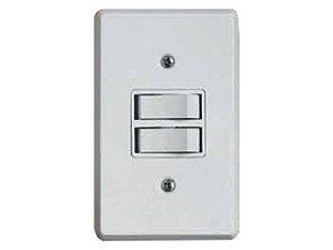 Interruptor BR 2 Teclas Paralela Ilumi- Prátika