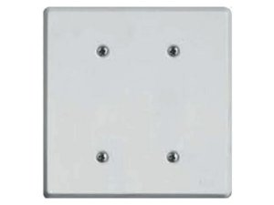 Placa 4x4 Cega Branca- Prátika