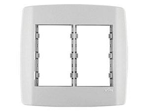 Placa 4x4 modular 3 + 3 Mód c/ Suporte