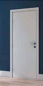 Kit Porta 90 cm Branco - Marco entre 9 e 13 cm
