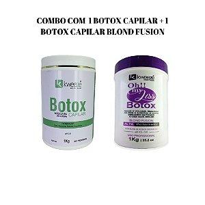 Combo 2 Botox Capilar - máscara redutora (Branco e Blond)