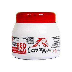 Máscara Red Way Cavalo Nobre 250g
