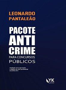 Pacote Anticrime: para concursos públicos