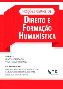 Noções Gerais de Direito e Formação Humanística