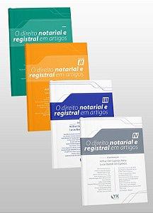 """COMBO """"O Direito Notarial e Registral em Artigos"""""""