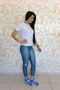 Legging Jeans Sublimação