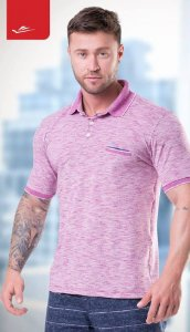 Camiseta Polo Elite 125829 Cor Uva
